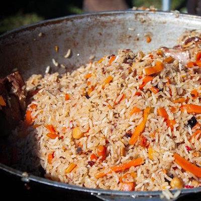 Вкусный плов в казане из свинины рецепт с пошагово в