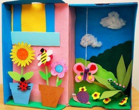 Поделки для детей 3-4 года на тему лето 35