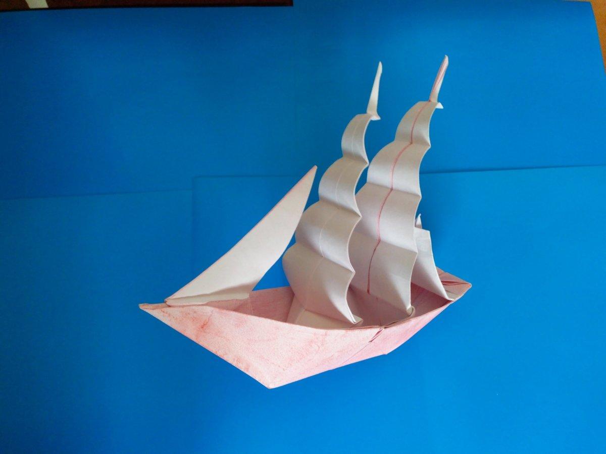 Кораблики из бумаги своими руками кораблик с парусами