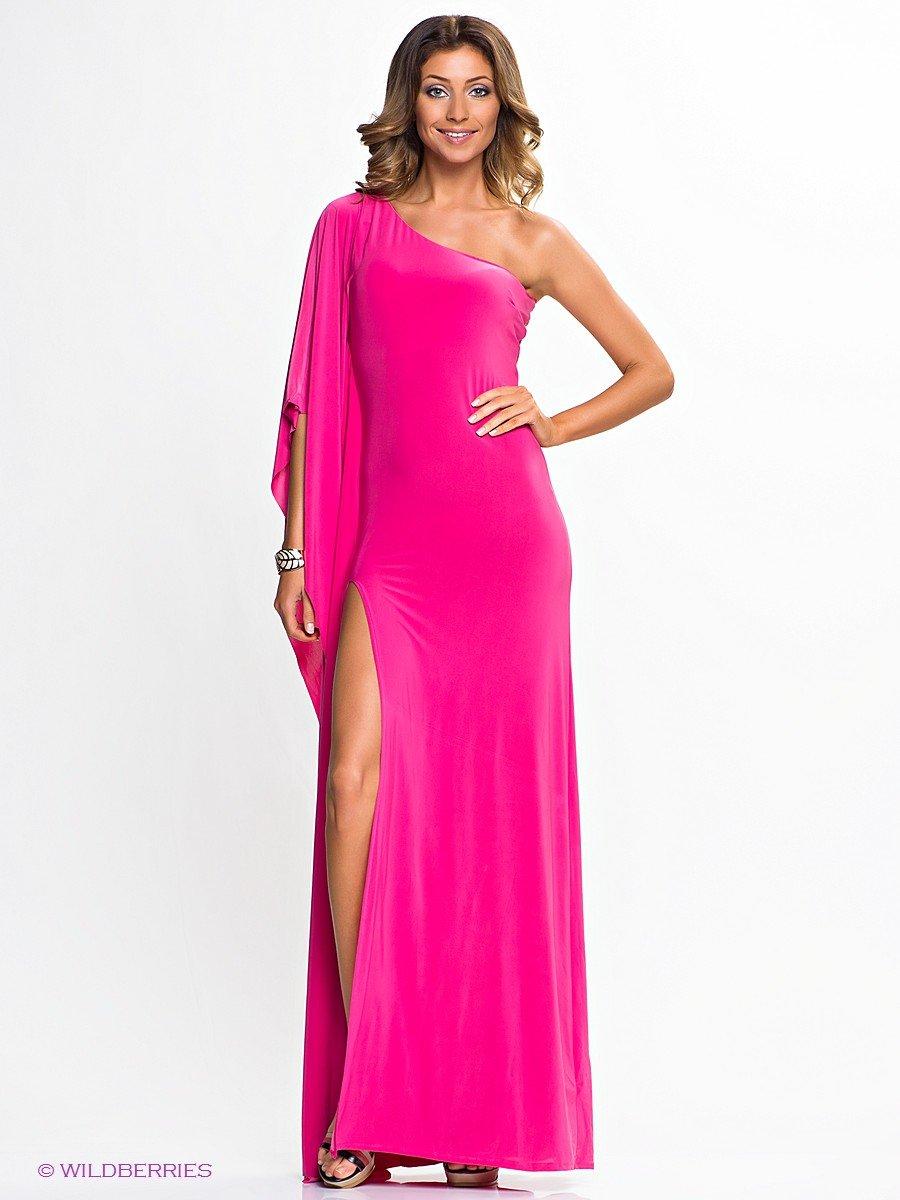 Платье с блестками длинное