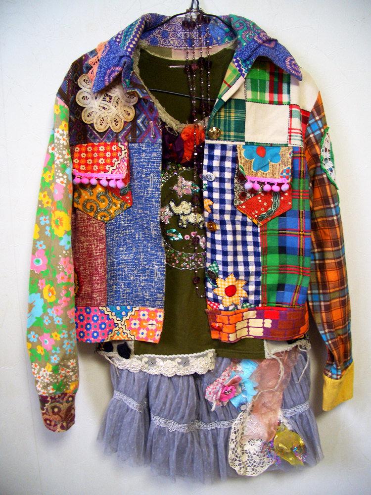 Лоскутные куртки 5