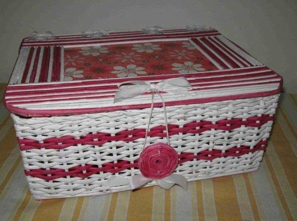 Коробка из газет своими руками и крышка 153
