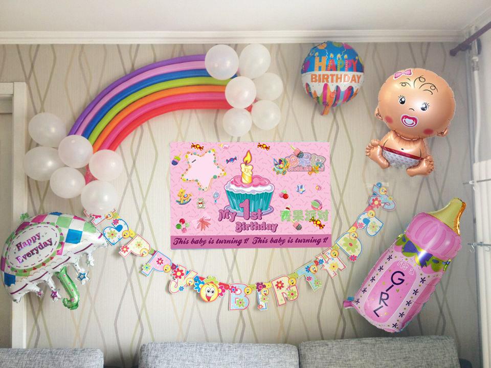 Как украсить день рождения малышу своими руками 52