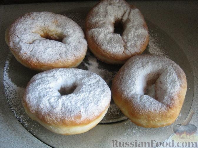 Постные пончики на дрожжах рецепт с пошагово