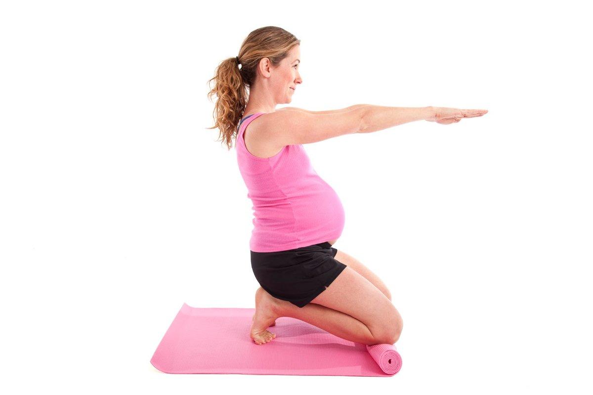 Домашние тренировки для беременных 96