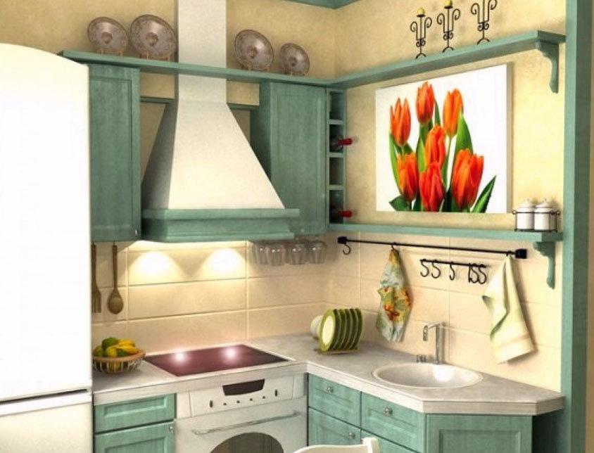 Маленькие кухни в хрущевке дизайн малогабаритные