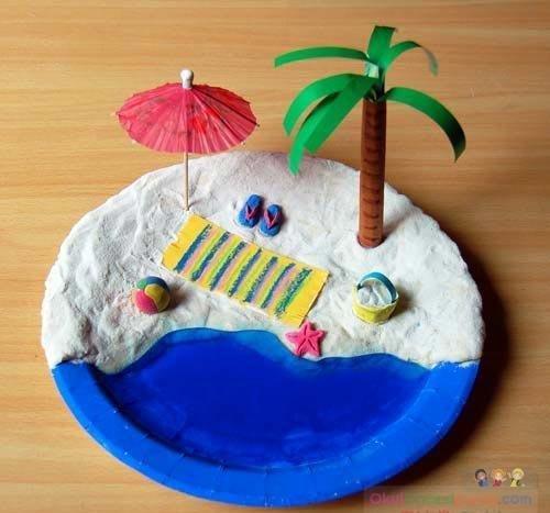 Поделки в детском саду на морскую тему