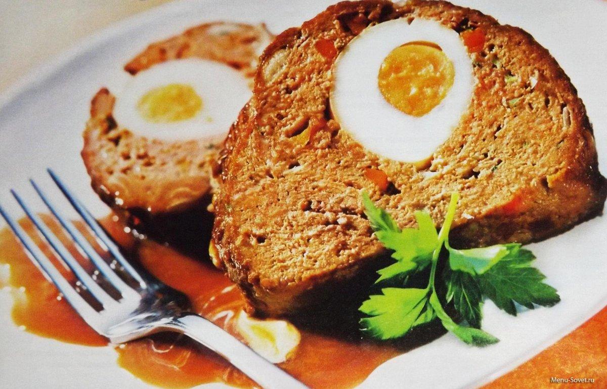 Рецепт рулета с яйцом внутри