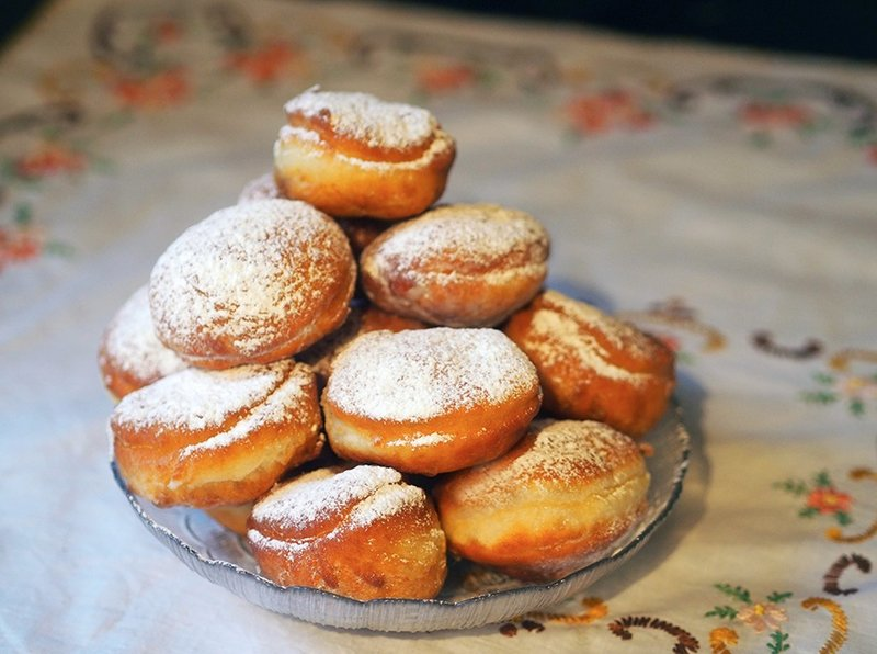 Пончики рецепт без дрожжей с пошагово пышные