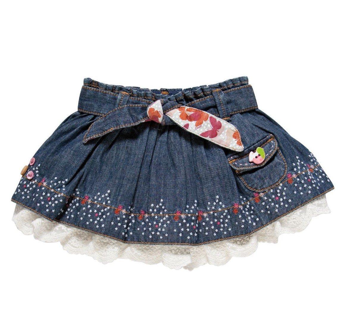 Как сшить юбку для девочки : мастер-класс. Как пошить юбку для девочки 91