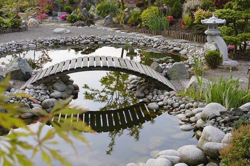 Декоративные мостики для сада