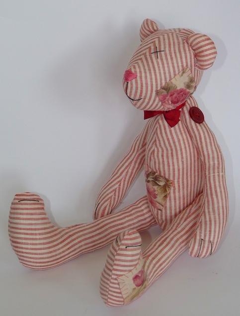Мягкие игрушки из ткани своими руками тильда