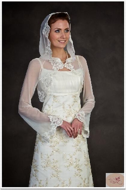 Венчальные платья для полных женщин