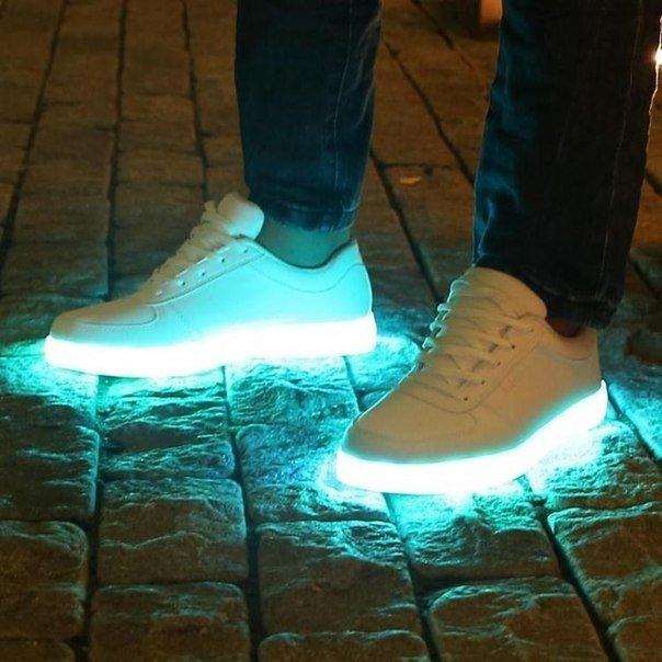 Как сделать обувь светящейся 23