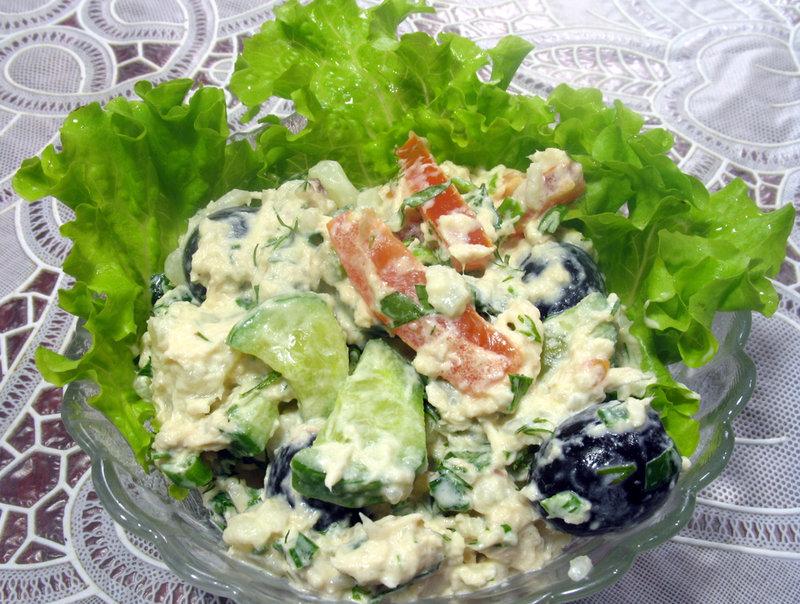 Салат из цветной капусты рецепты быстро