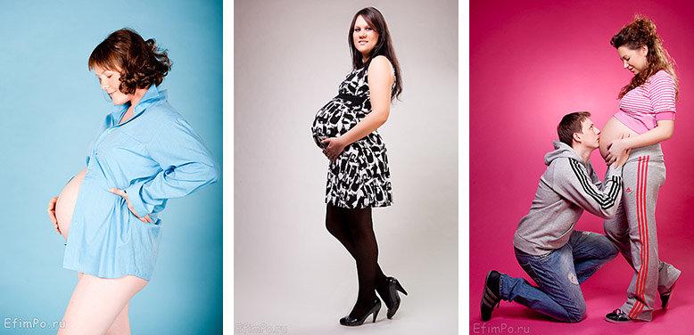 Лучшие позы для беременных для фотосессии 45