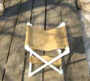 как сделать кресло для рыбалки своими руками