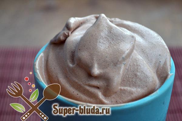 Рецепт шоколадного мороженого в домашних условиях пошагово