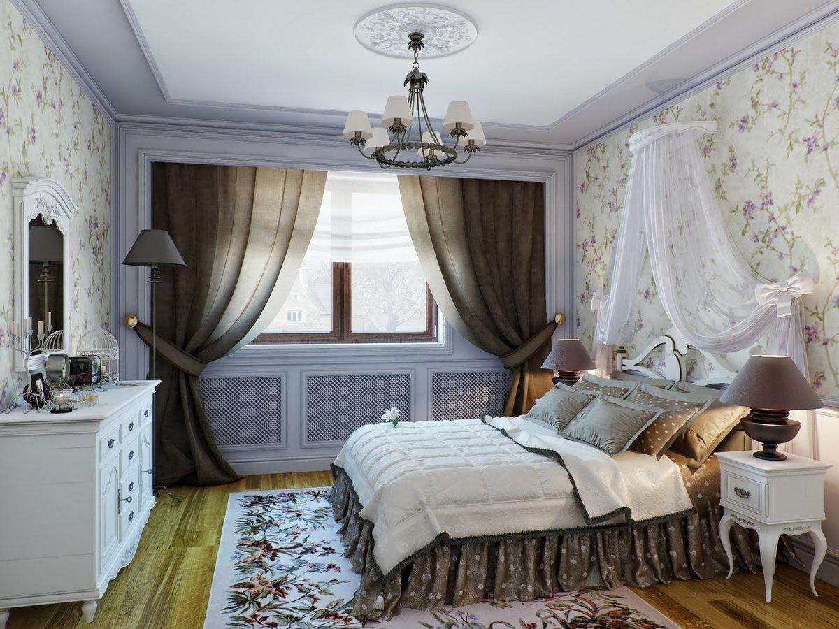 Спальня стиль прованс фото интерьер своими руками 231