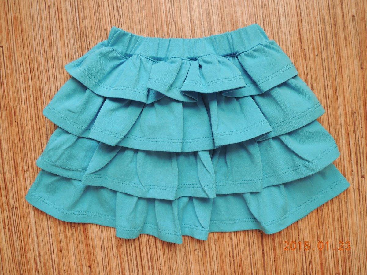 Сшить своими руками юбку с воланами для девочки своими руками