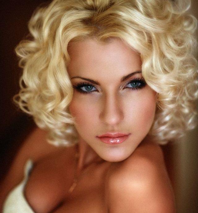 Макияж для блондинок вечерний пошаговое