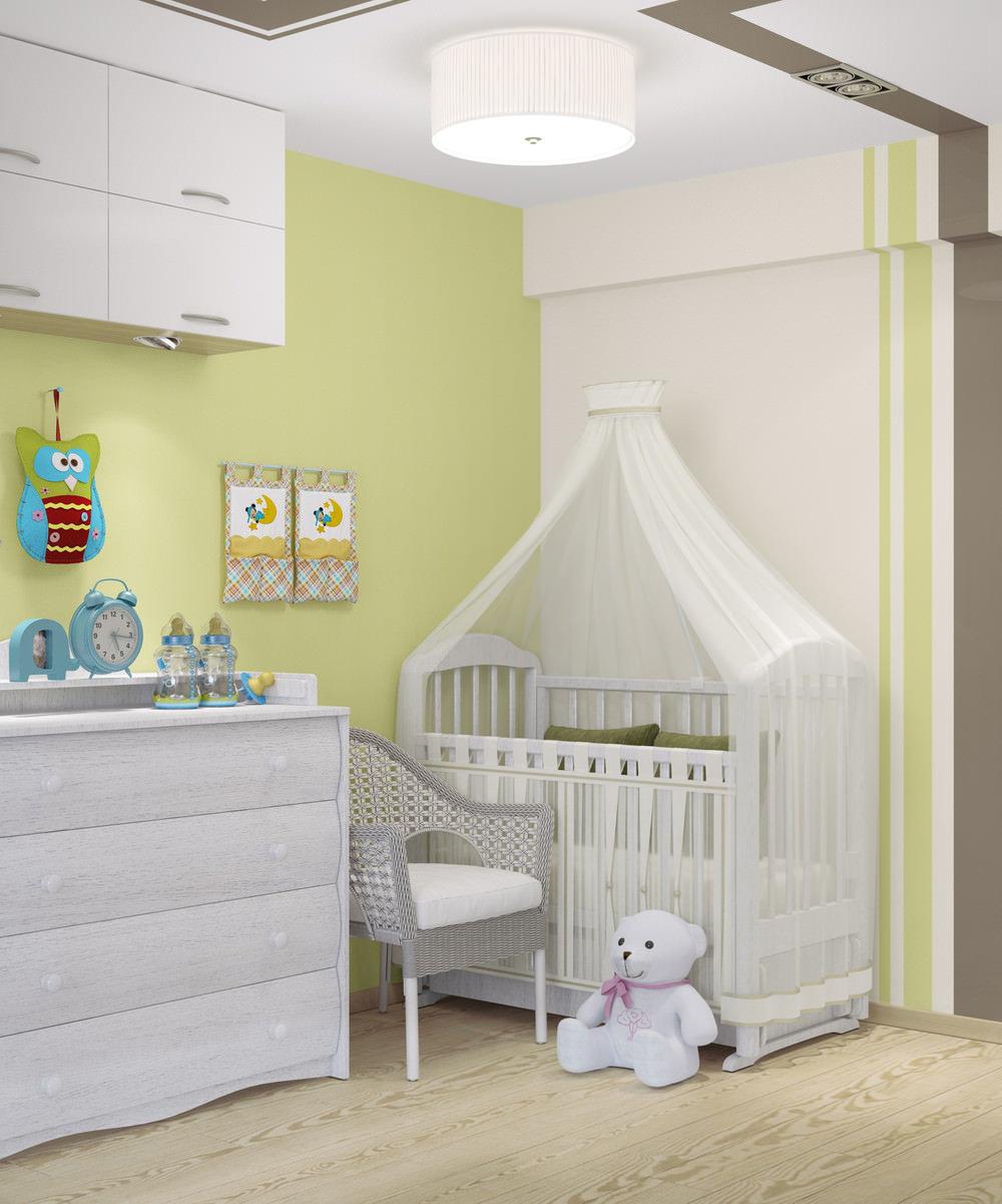 В однокомнатной квартире с ребенком фото