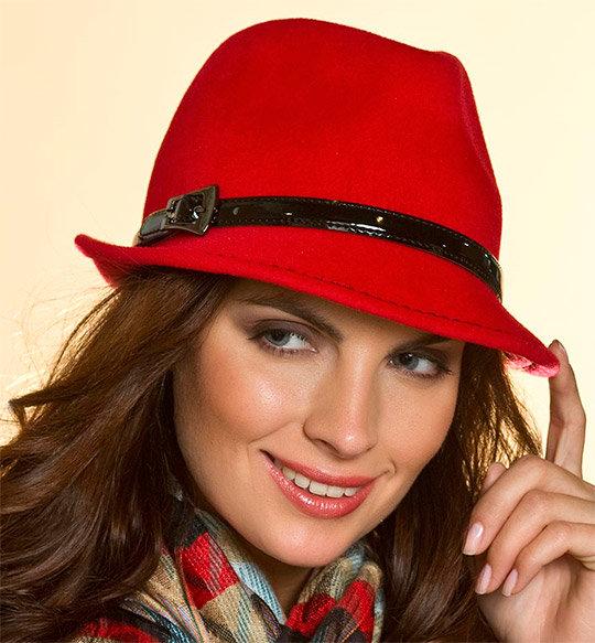Женские модные шляпы
