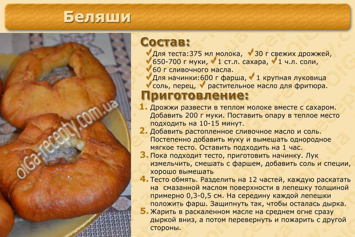 Беляши с творогом рецепт пошаговый
