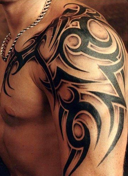 Фото тату кельтские узоры на плече