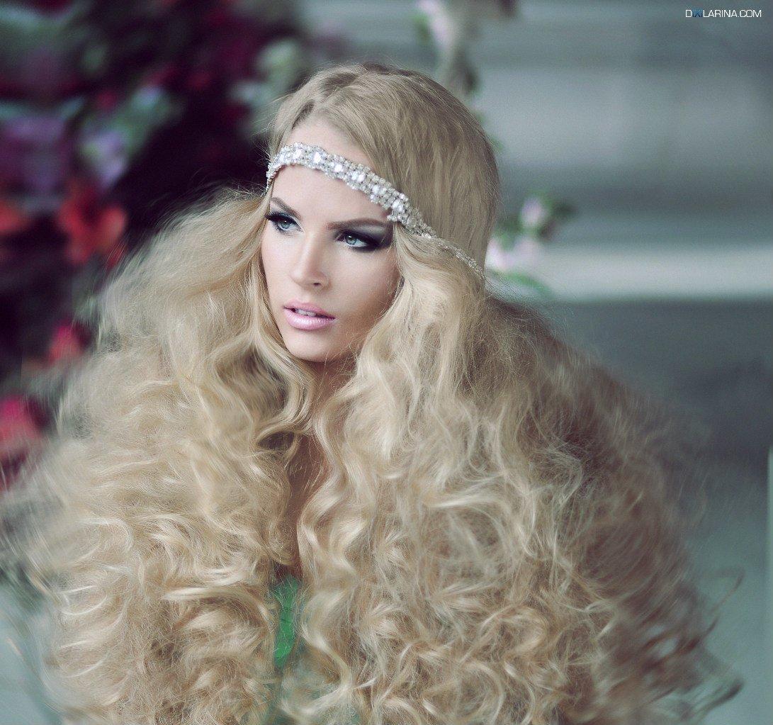 Пышные прически на длинные волосы: фото, как сделать укладку 54