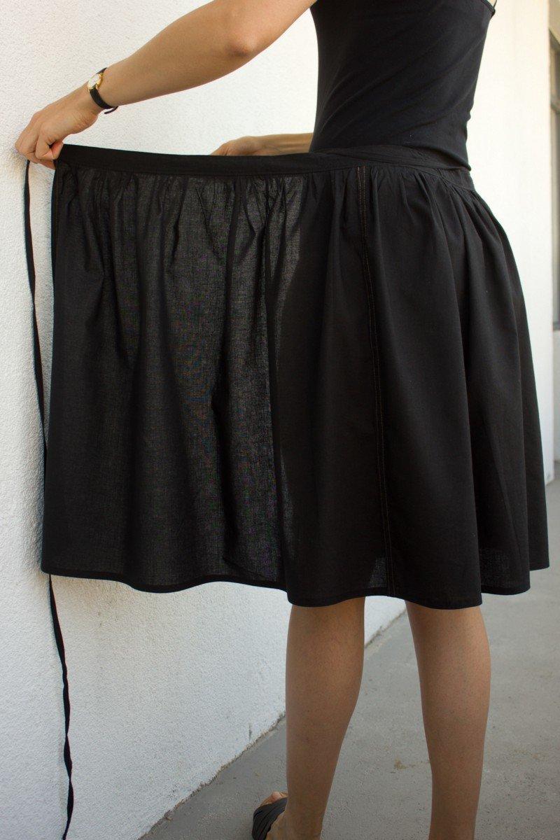 Простая летняя юбка своими руками фото 21