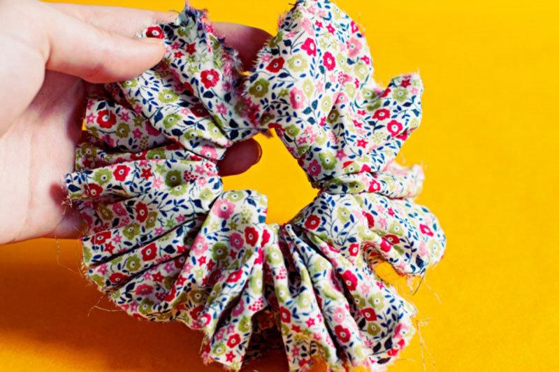 Как сшить резинку из ткани своими руками