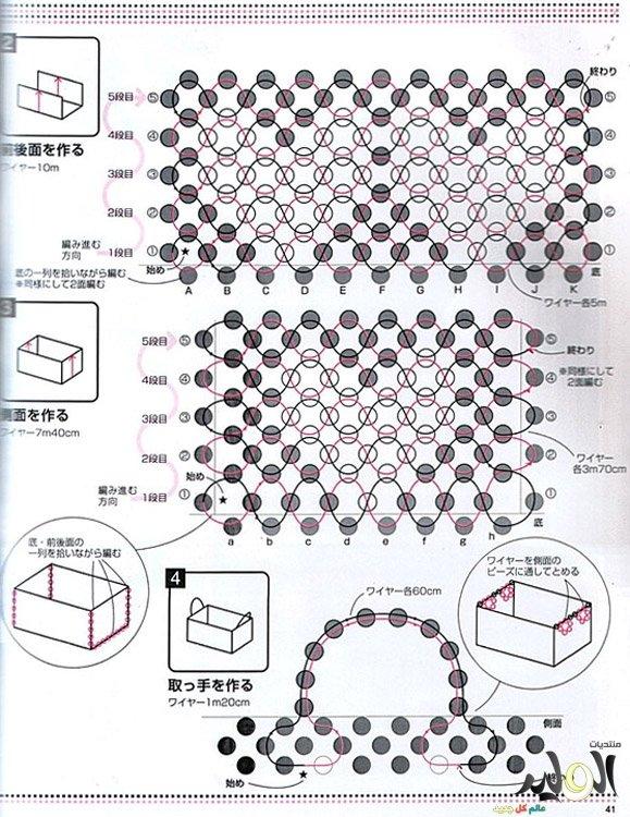 Как сделать шкатулку из схемы