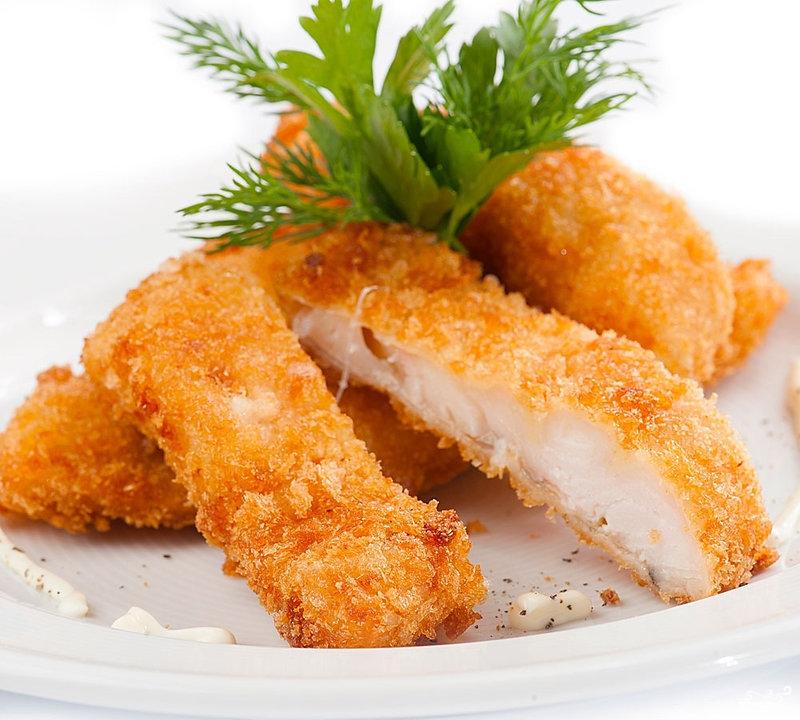 Куриные отбивные в сухарях на сковороде рецепт пошагово