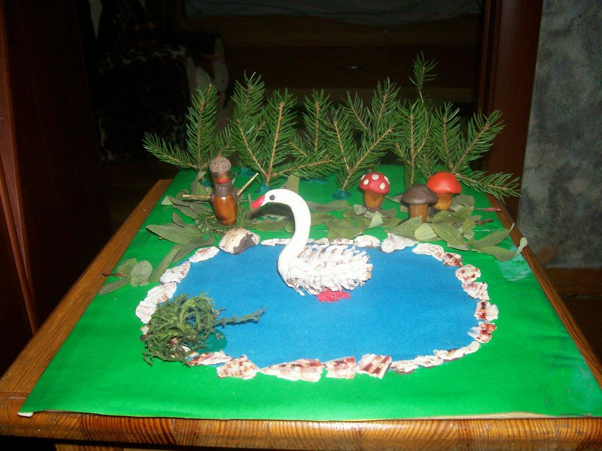 Кашпо лебедь своими руками Лебедь мастер класс 34