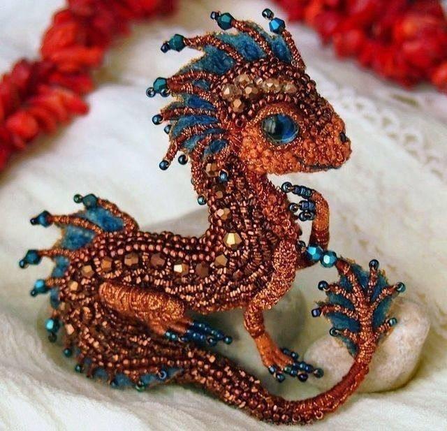 Бисер своими руками дракон 18