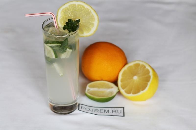 Безалкогольный коктейли в домашних условиях
