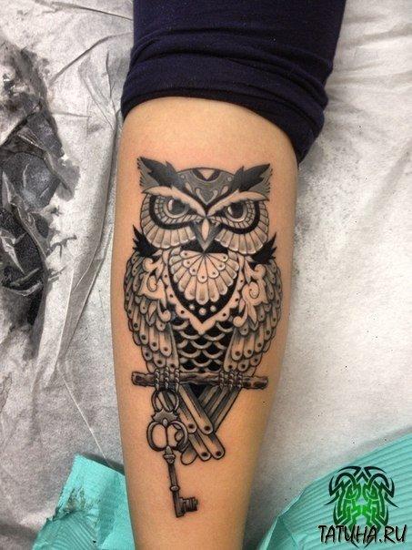 Что означает тату сова на руке не
