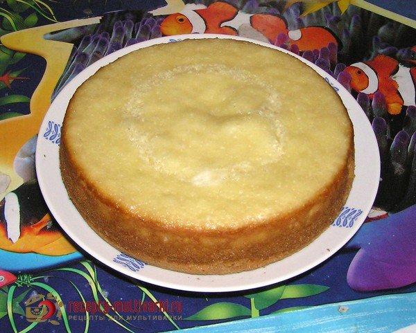 Простой торт в мультиварке домашних условиях рецепт
