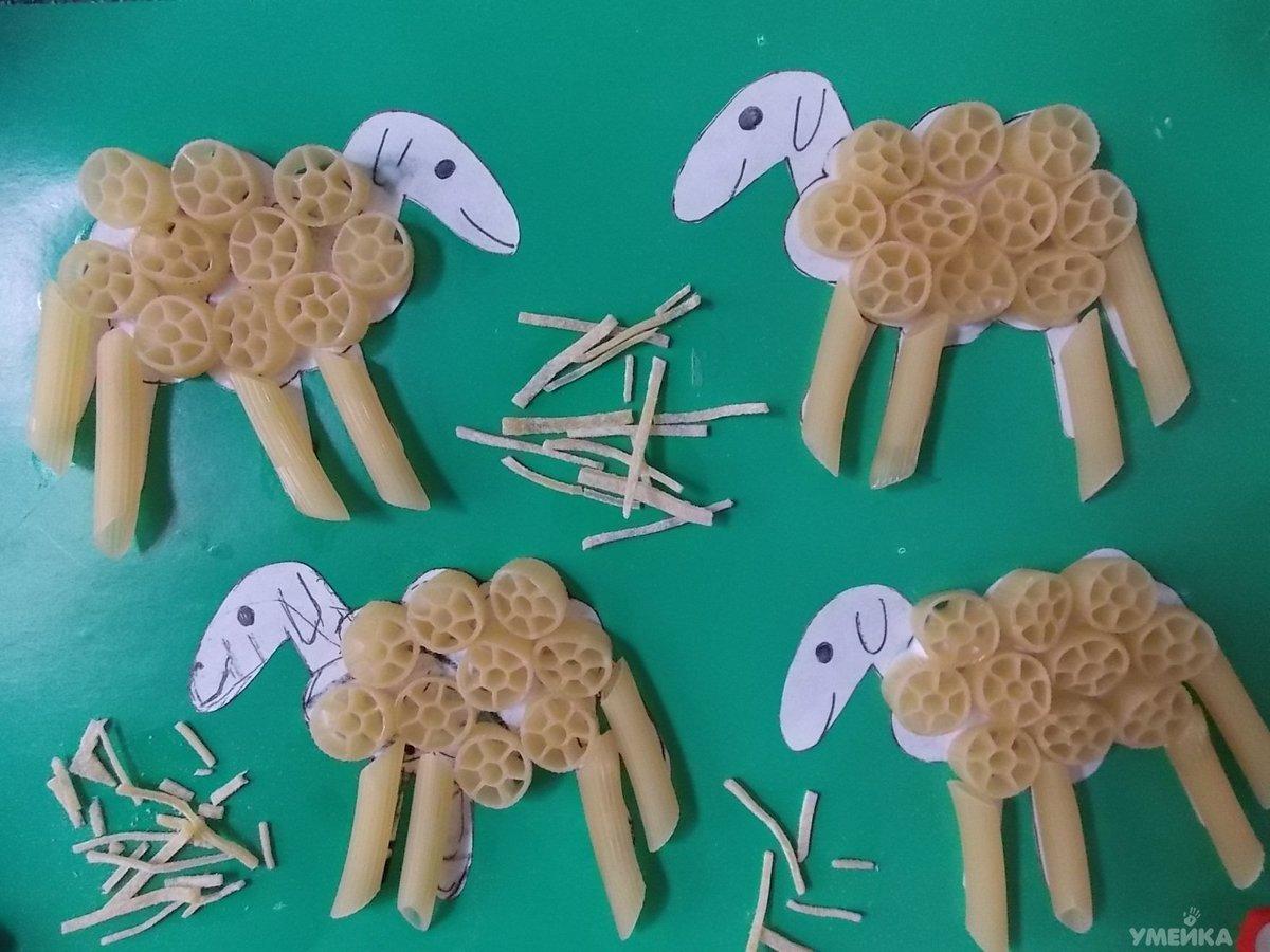 Поделки своими руками из макарон в детский сад
