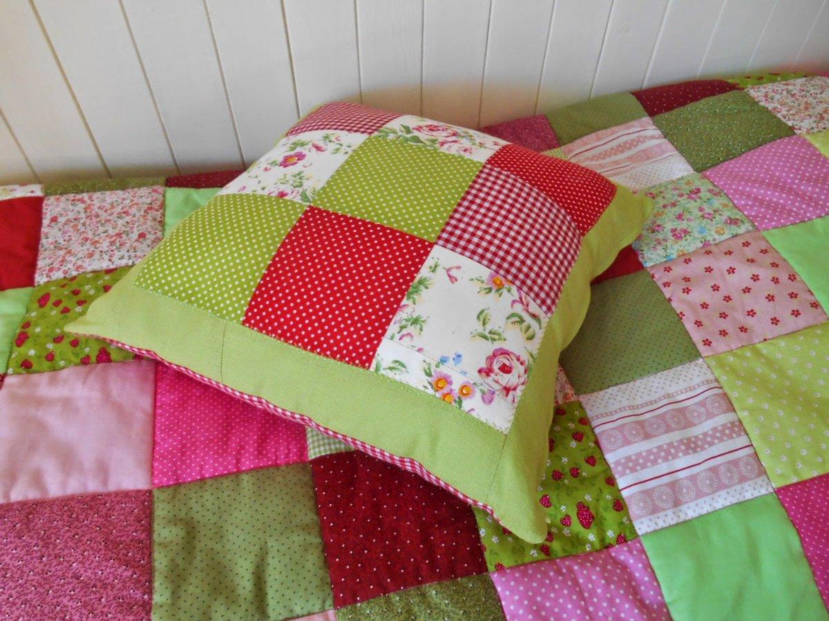 Подушка из квадратов сшить 38