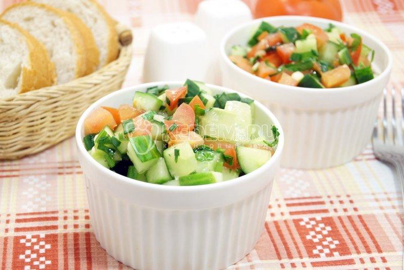 Рецепты вкусных весенних салатов