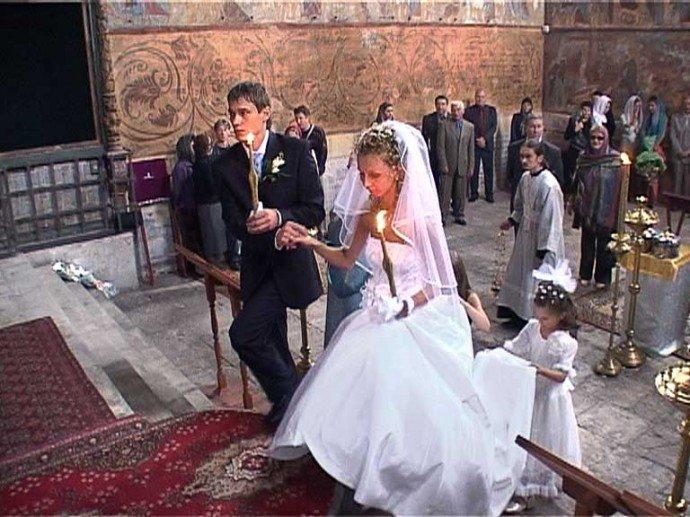В чем венчаются через год после свадьбы