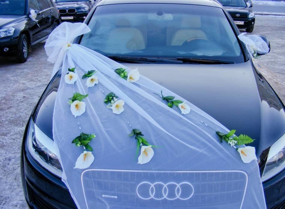 Украсить машину для свадьбы своими руками 46