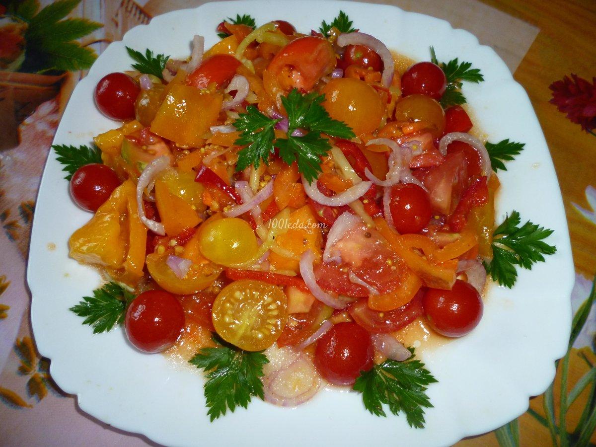 Салат пикантный пошаговый рецепт с фото