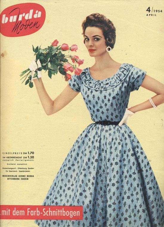 Платье 60 годов сшить 3