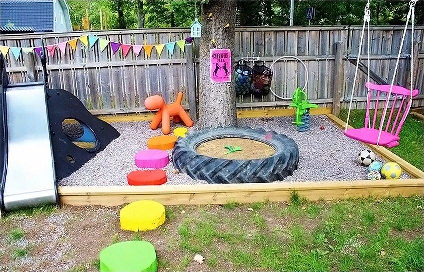 Как сделать детскую площадку на улице 43