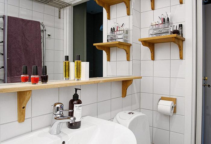 Полочки для ванной своими руками из дерева