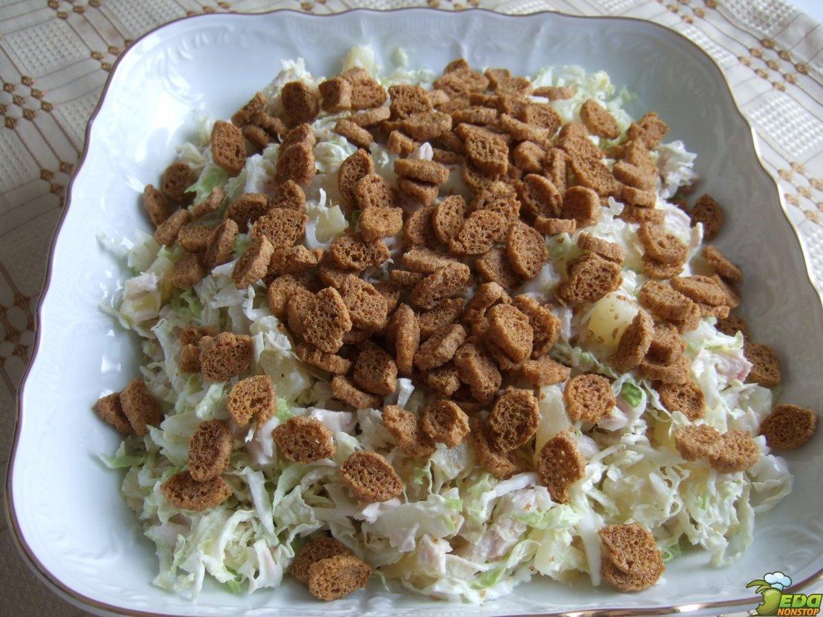 Салаты рецепты простые с кириешками