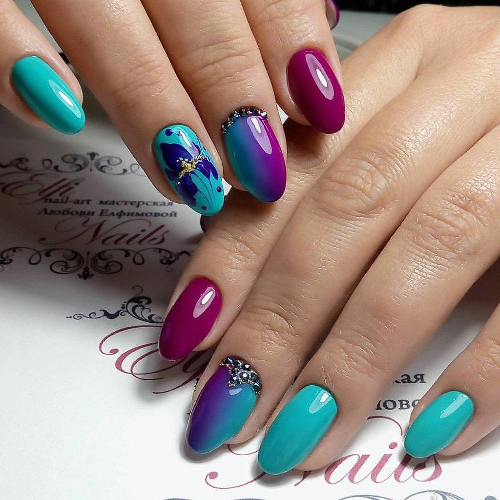 Модный дизайн ногтей весна 2018 новинки